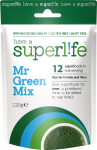 Superlife Mr Green Mix Wholefood Powder
